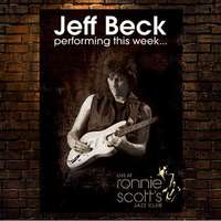 Jeff Beck live at Ronnie Scott's