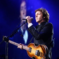 Paul McCartney in performance at the White House